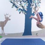 Papel pintado reciclado para decorar dormitorios infantiles