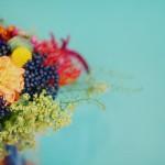Una boda colorida y con cierto estilo retro