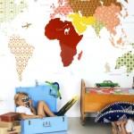Dormitorios infantiles, cómo decorar sus paredes
