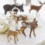 DIY, decorar animales de plástico para Navidad