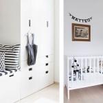 Decoración neutra en dormitorio infantil
