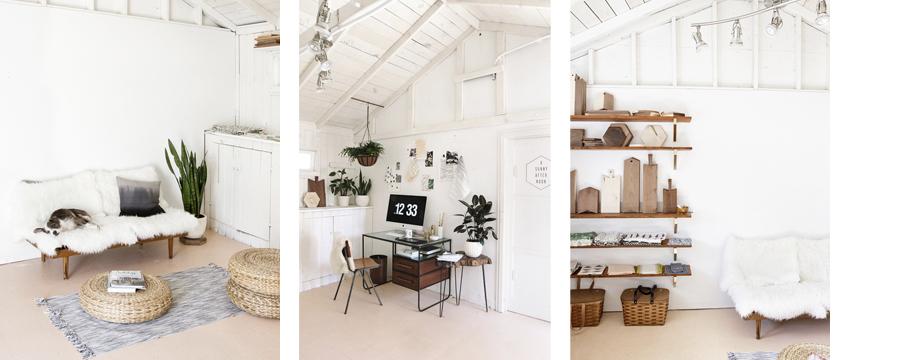 Un espacio idílico para trabajar