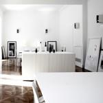 Una luminosa, elegante y sencilla oficina