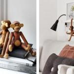 El famoso y simpático mono de madera