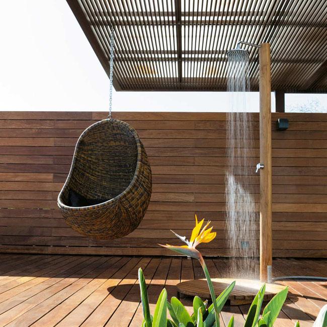 Muebles exteriores para el relax estilo escandinavo - Columpios de terraza ...