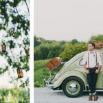 Una boda rústica y romántica