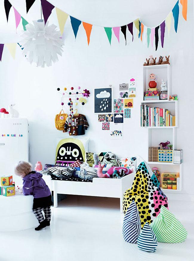 Decoraci n infantil estilo escandinavo for Habitaciones infantiles estilo escandinavo