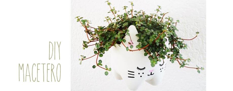 DIY, Macetero en forma de gato
