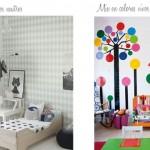 Decoración unisex en dormitorios infantiles