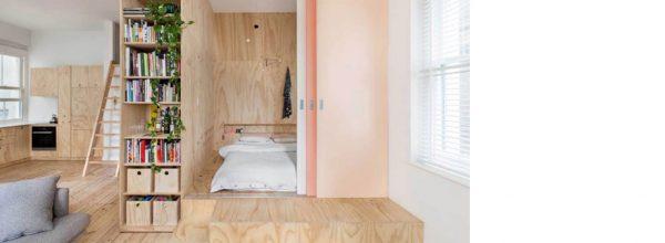 Apartamento con gran capacidad de almacenaje