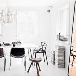 En casa de una estilista