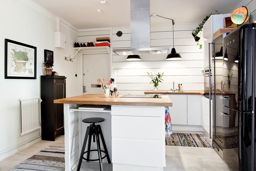 mini apartamentos estilo escandinavo