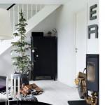 Vivienda con decoración navideña