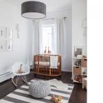Dormitorios infantiles en blanco y madera