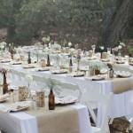 Una boda bohemia y sencilla en el bosque