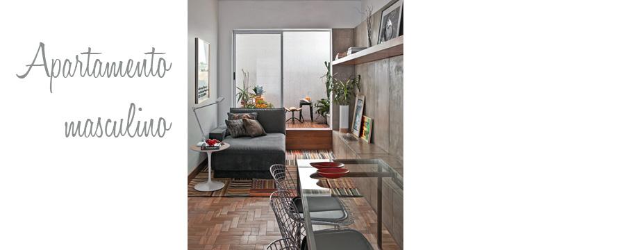 Apartamento con toques masculinos