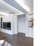 Mini apartamento con tabique móvil