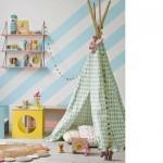 Dormitorios infantiles con paredes originales