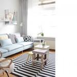 Flechazo: salón en tonos pastel
