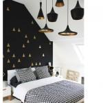 Elegantes lámparas negras + sorteo