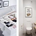 Muebles recibidores y tips para decorar viviendas pequeñas