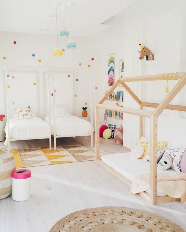 dormitorios infantiles estilo escandinavo