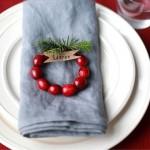 DIY para la mesa de Navidad