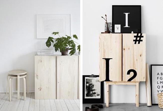 Inspiraci n para transformar el mueble ivar de ikea - Transformar muebles ikea ...