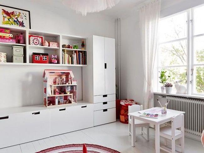 Dormitorios infantiles amueblados con Stuva  Estilo Escandinavo