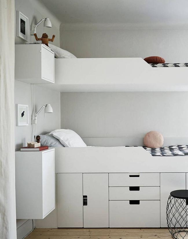 Dormitorios infantiles amueblados con stuva estilo - Ikea habitaciones infantiles literas ...