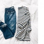 Free Friday: Denim + stripes