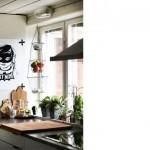Decorar la cocina con láminas