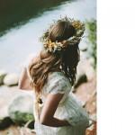 Free Friday, novias con corona de flores