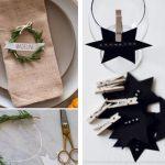 Detalles en la mesa de Navidad