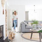 Serenidad y frescura en el interior de la vivienda