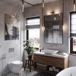 Tips para dar un toque industrial a tu baño