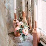 Un toque de romanticismo con el oro rosa
