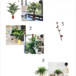 Decorar con plantas artificiales