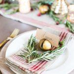 Inspiración para crear una bonita mesa de Navidad