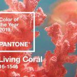 El coral se convierte en el color del 2019