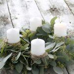 Eucalipto para decorar la Navidad