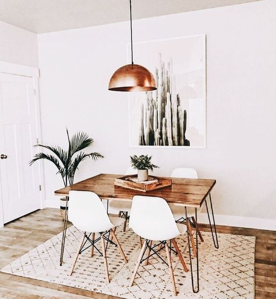 Tips para decorar la mesa del comedor | Estilo Escandinavo